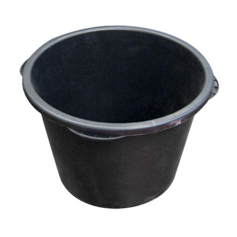 Кадка строительная пластмассовая круглая, 90 л фото
