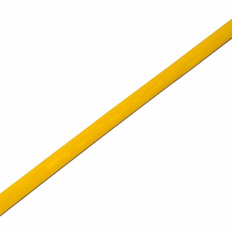 Термоусадка желтая 4,0/2,0 мм 1м REXANT фото