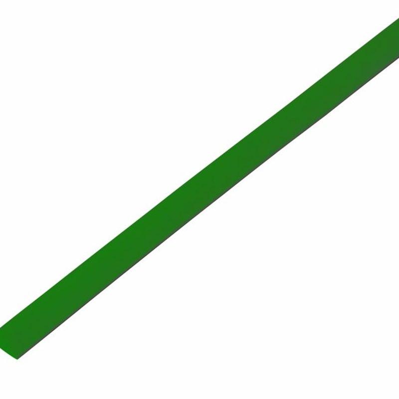 Термоусадка зеленая 6,0/3,0 мм 1м REXANT фото