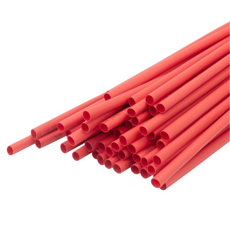Термоусадка красная 6,0/3,0 мм 1м REXANT фото