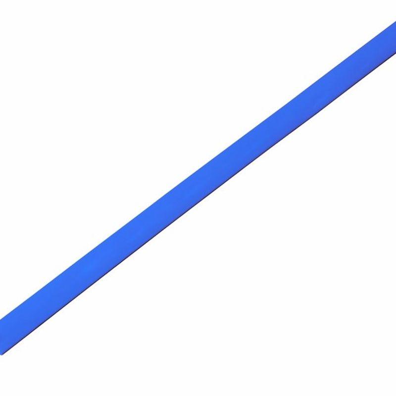 Термоусадка синяя 4,0/2,0 мм 1м REXANT фото