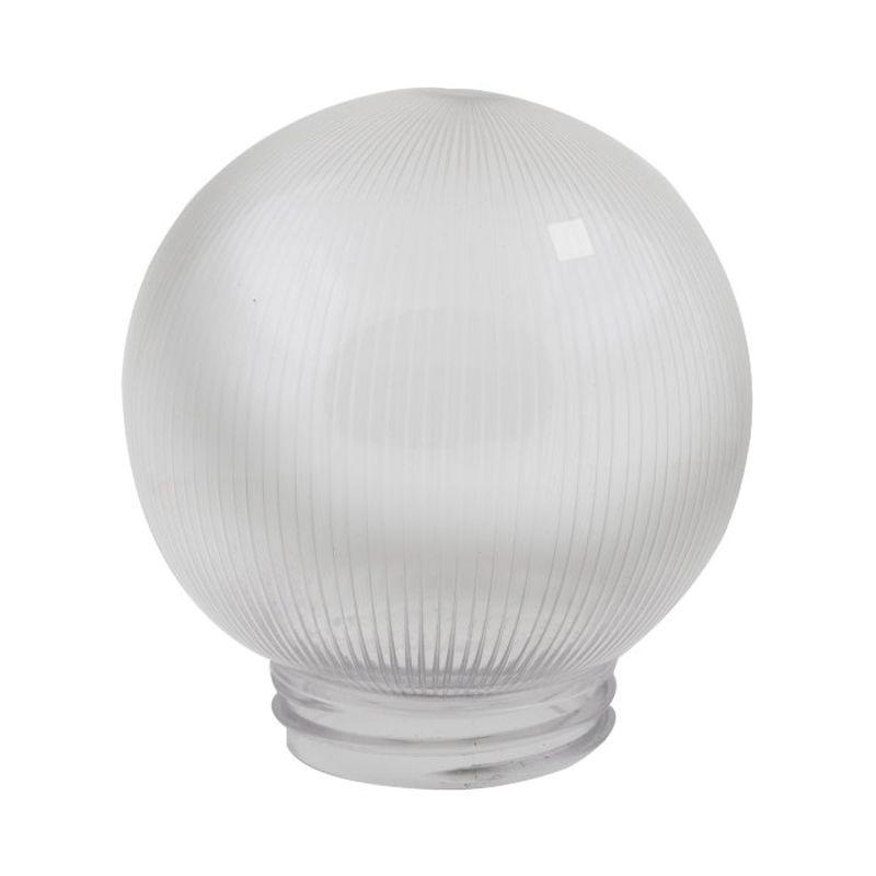 Купить Рассеиватель Uniel UFP-P150A CLEAR призматический (с насечками) в форме шара для садово-парковых светильников