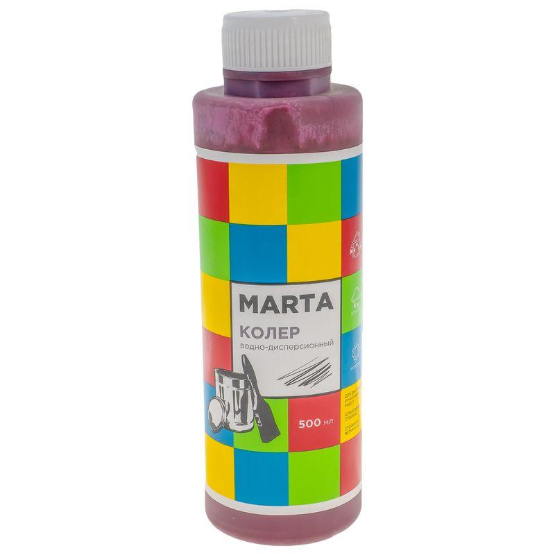 Колер MARTA в/д бордовый, 500 мл