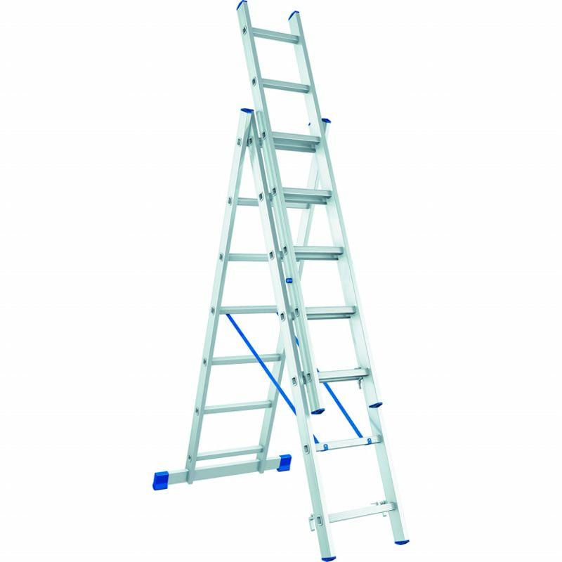 Лестница трехсекционная, 282×476×646 см