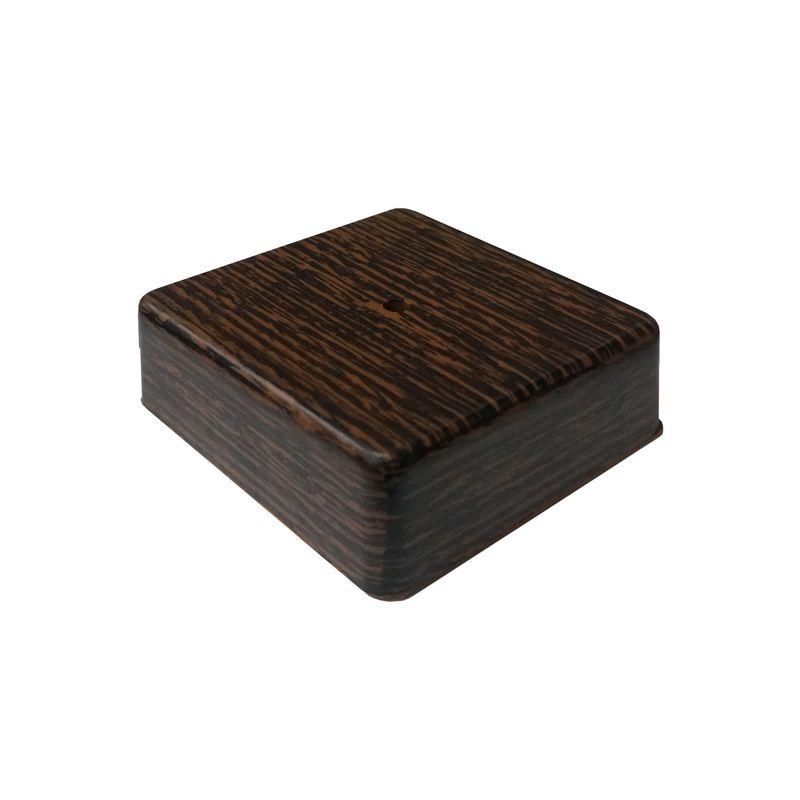 Распаячная коробка 100х100х29 мм Венге T.Plast фото