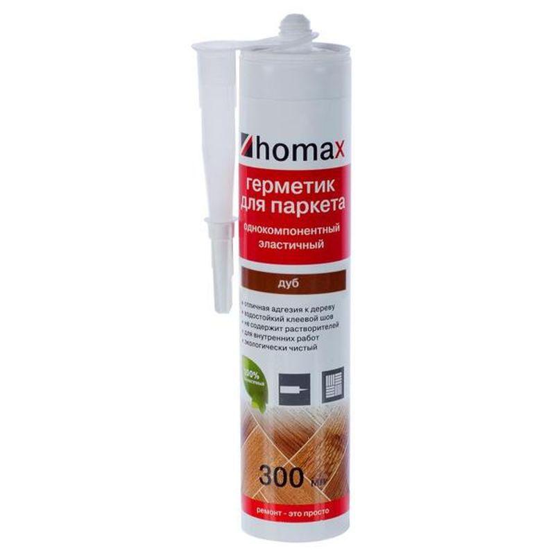 Герметик HOMAX 300мл, Дуб фото