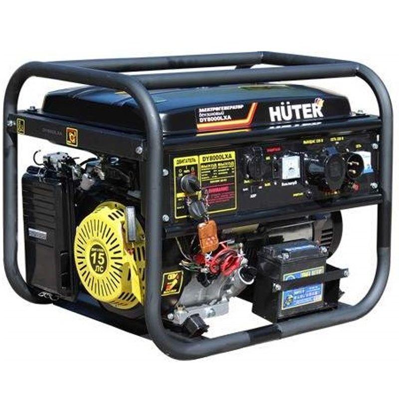 Генератор бензиновый Huter DY8000LXA (с АВР) фото