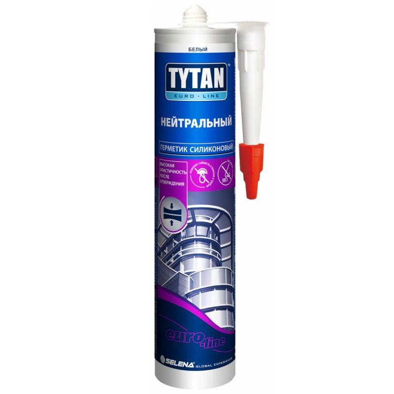 Герметик Tytan Euro-Line Силикон Нейтральный (бесцв.), 290мл фото