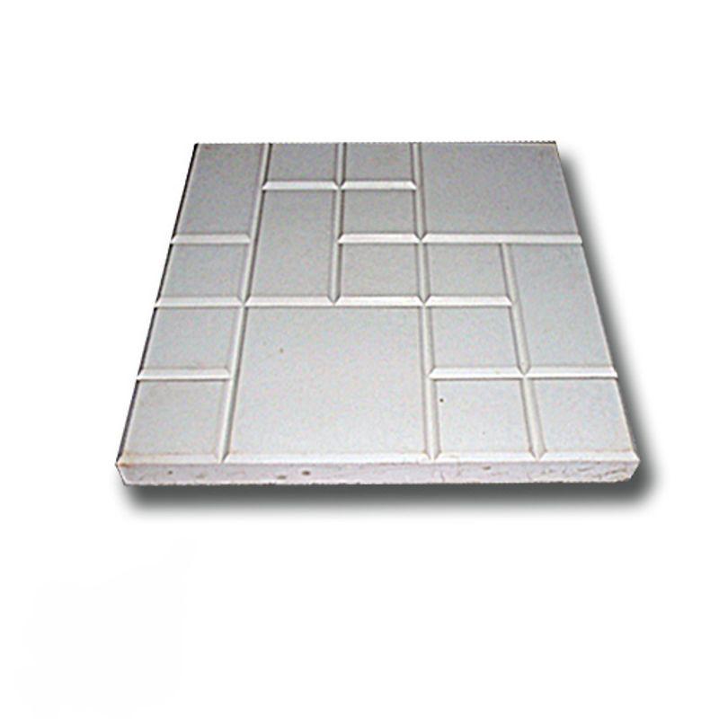Купить Плитка тротуарная Рваная сетка серая (250х250х25), Серый, РВАНАЯ СЕТКА, Россия