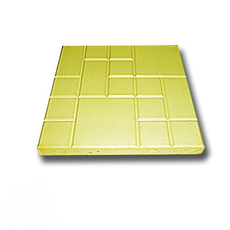 Купить Плитка тротуарная Рваная сетка желтая (250х250х25), Желтый, РВАНАЯ СЕТКА, Россия