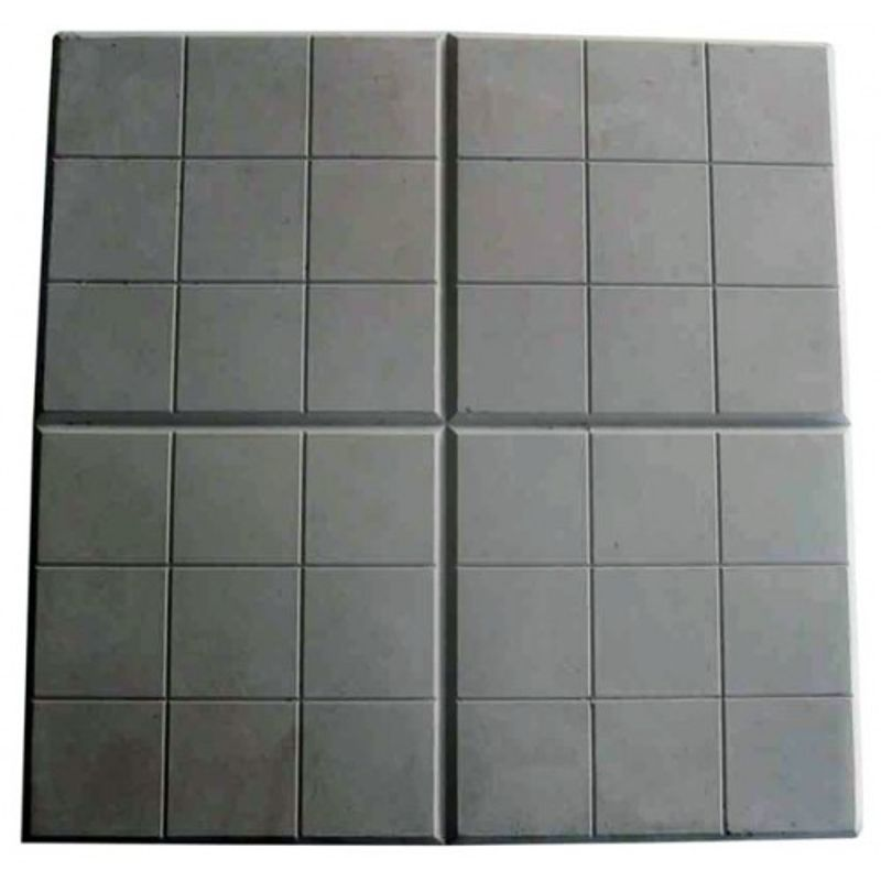 Купить Плитка тротуарная Сетка черный (350х350х50), Черный, СЕТКА, Россия