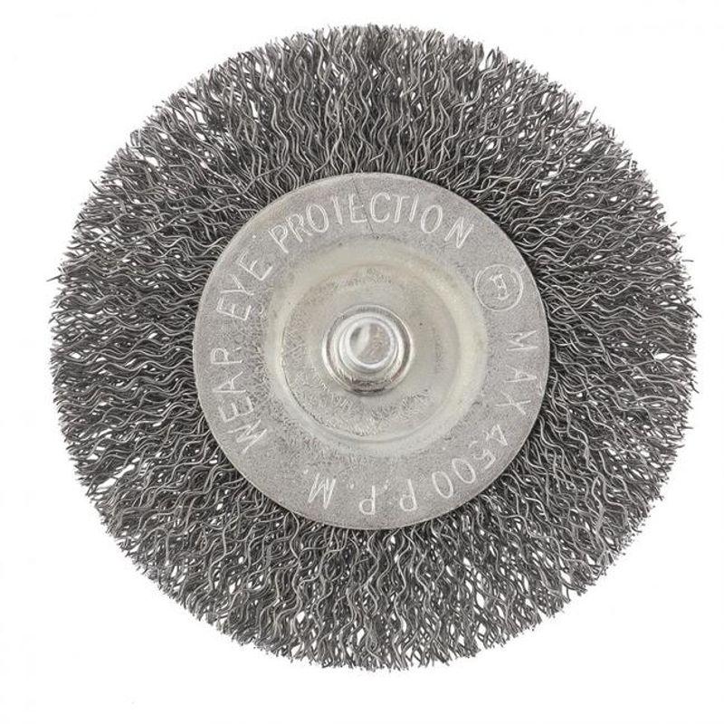 Щетка для дрели, 75 мм, плоская