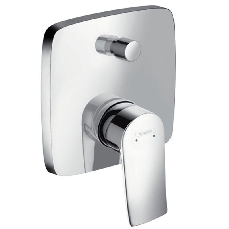 Купить Смеситель для ванны Hansgrohe Metris 31454000 к Ibox Universal, Хром, Германия