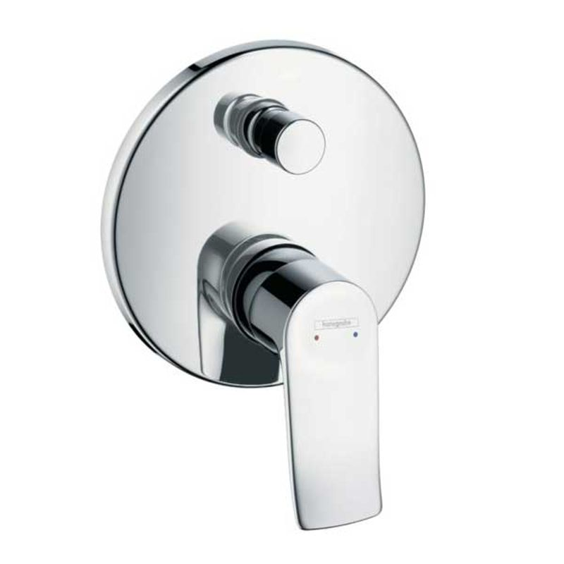Купить Смеситель для ванны Hansgrohe Metris 31493000 к Ibox Universal, Хром, Германия