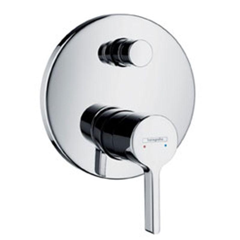 Купить Смеситель для ванны Hansgrohe Metris S 31465000 к Ibox Universal, Хром, Германия