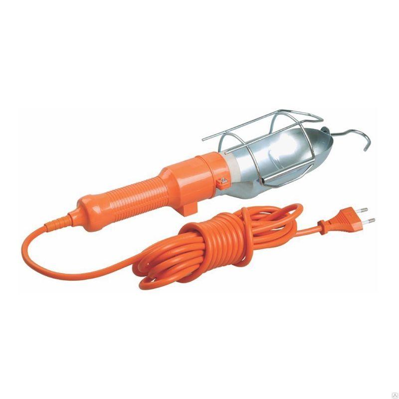 Светильник переносной ручной с выключателем (шнур 10м)