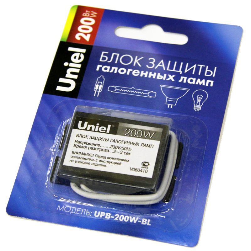 Блок защиты галогенных ламп и ламп накаливания 200W