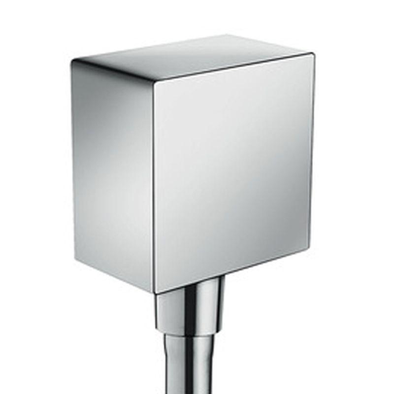 Купить Шланговое подключение Hansgrohe Fixfit Square 26455000, Хром, Германия