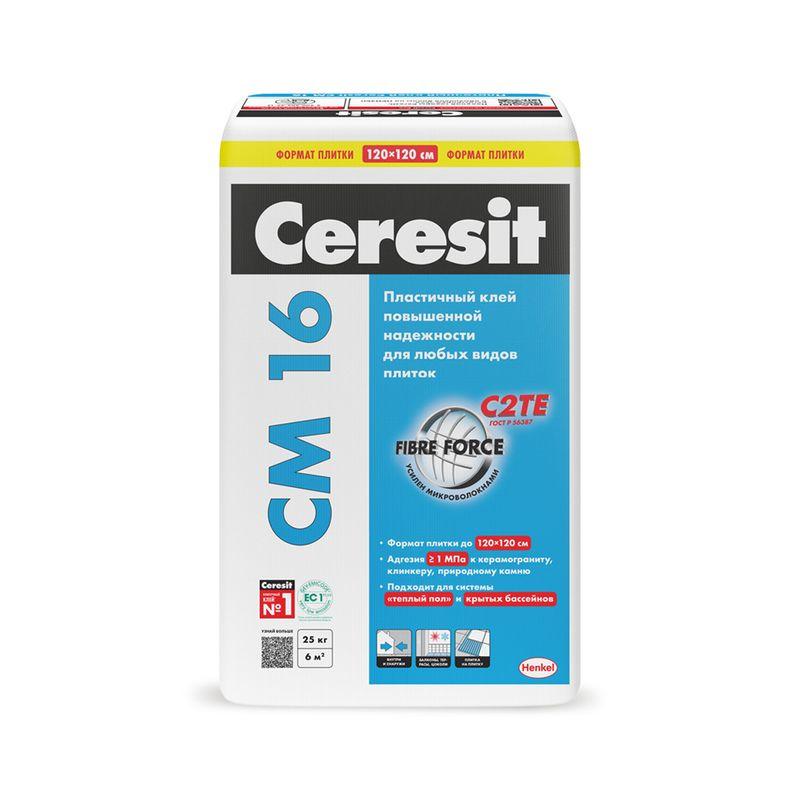 Клей для плитки Ceresit CM16 25 кг фото