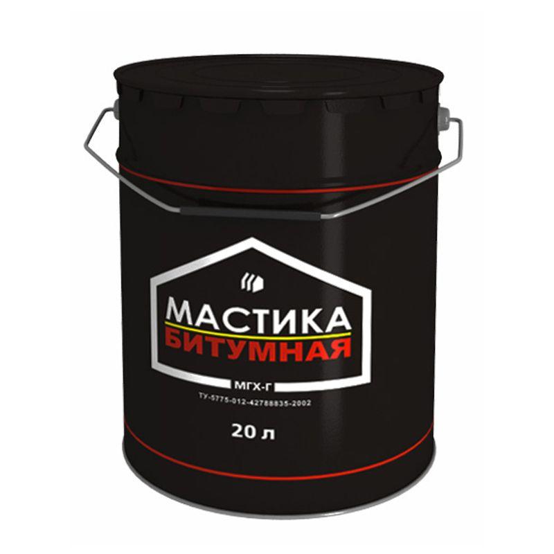 Мастика битумная Грида МГХ Г, 18 кг