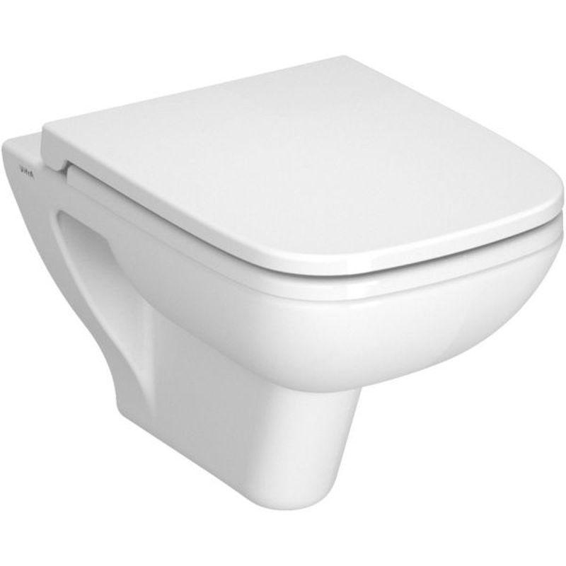 Купить Унитаз подвесной Vitra S20 (5507B003-0101), Белый, Фарфор