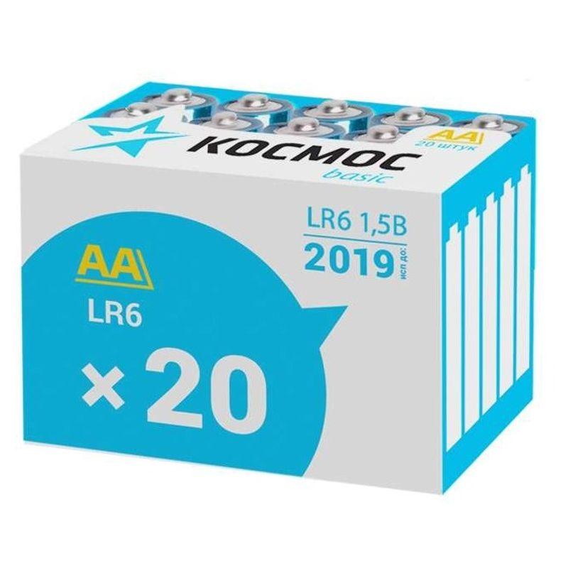 Элемент питания AA LR6 Alkaline 1,5В Космос фото