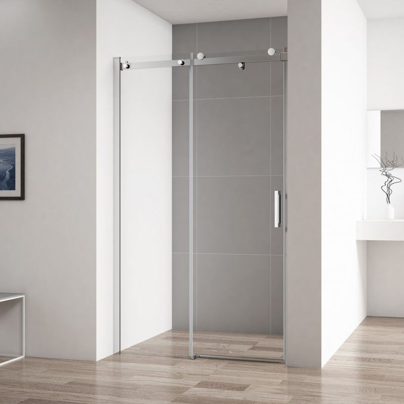 Душевая дверь Cezares Stylus-Soft 140 (STYLUS-SOFT-BF-1-140-C-Cr)