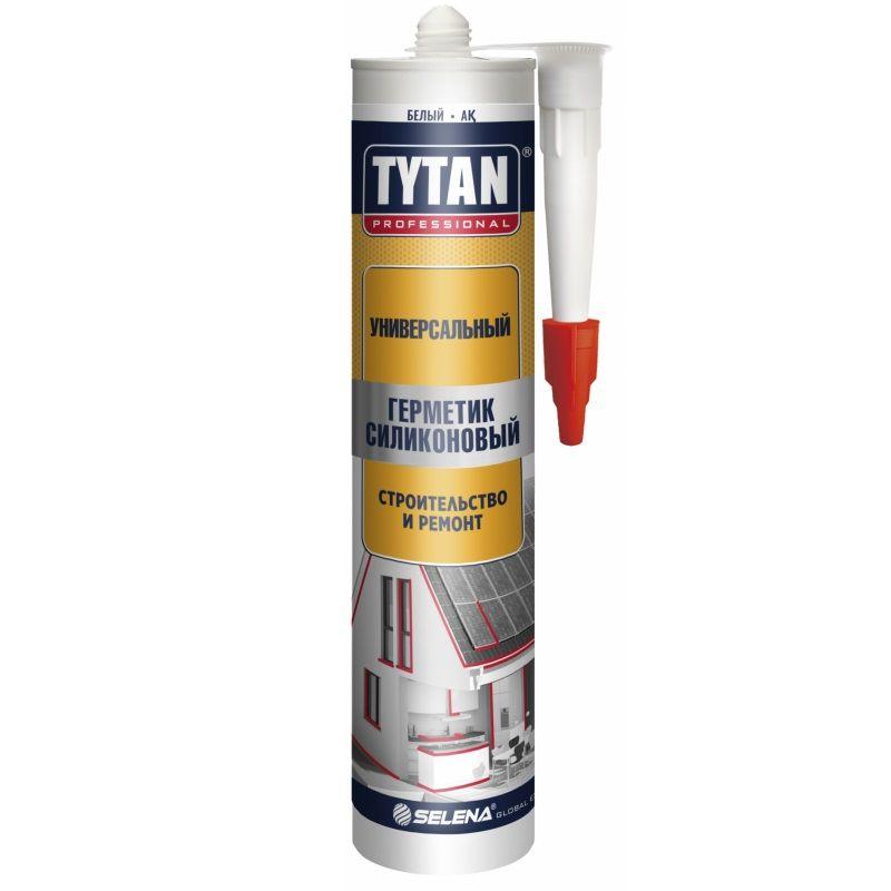 Герметик силиконовый универсальный TYTAN PROFESSIONAL, бесцветный (280мл) фото