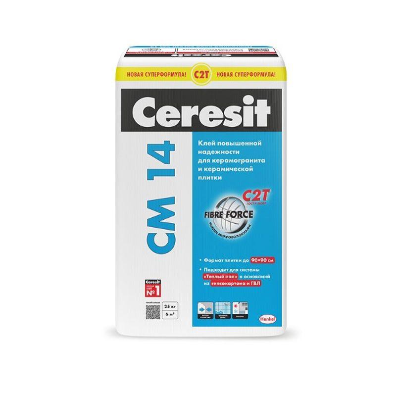 Клей для плитки Ceresit CM14 25 кг