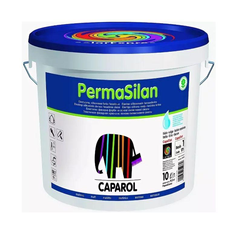 Краска Caparol Permasilan фасадная база 1 10л фото