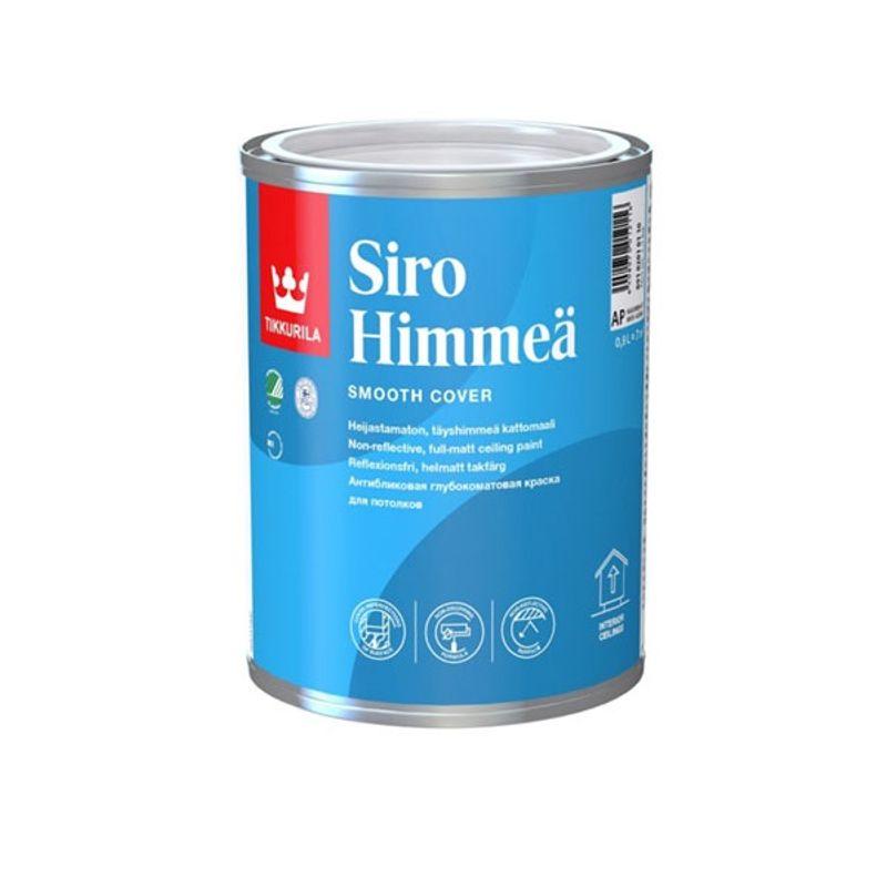 Краска Tikkurila Siro Himmea для потолка 0.9л фото
