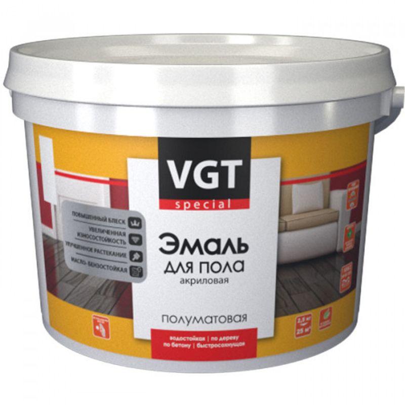 Эмаль VGT ВДАК 1179 Профи для пола венге 2.5кг фото