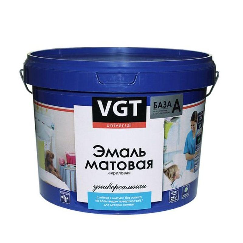Эмаль VGT ВДАК 1179 универсальная база А 1.5кг фото