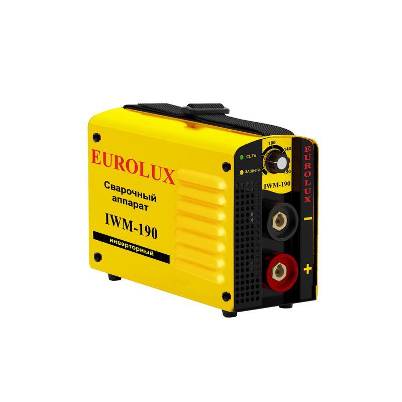 Аппарат сварочный инверторный Eurolux IWM190 фото