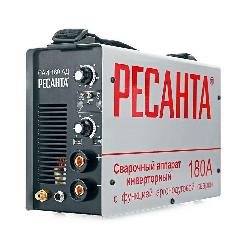 Аппарат сварочный инверторный Ресанта САИ-180-АД (аргонодуговой) фото