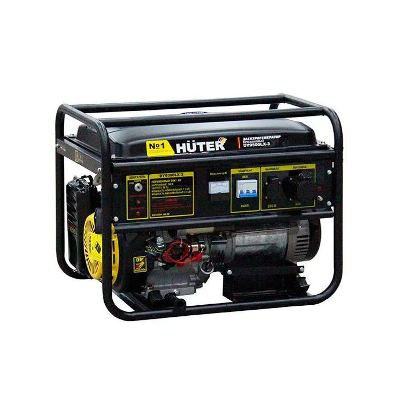 Генератор бензиновый Huter DY9500LX-3 фото
