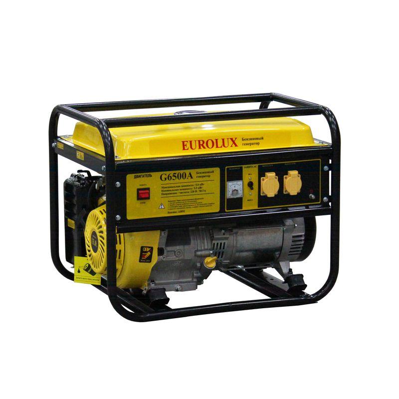 Генератор бензиновый Eurolux G6500A фото