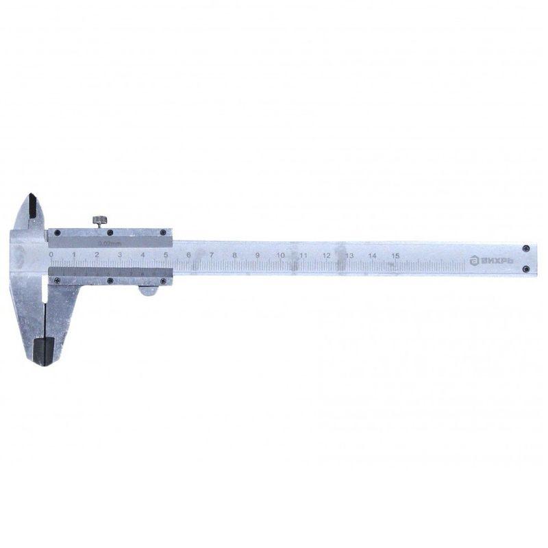 Штангенциркуль Вихрь с глубинометром ШЦ-150