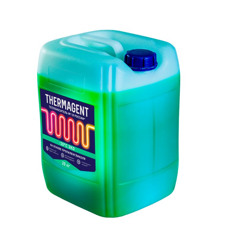 Теплоноситель THERMAGENT-30 ЭКО 20 кг (антифриз для систем отопления)