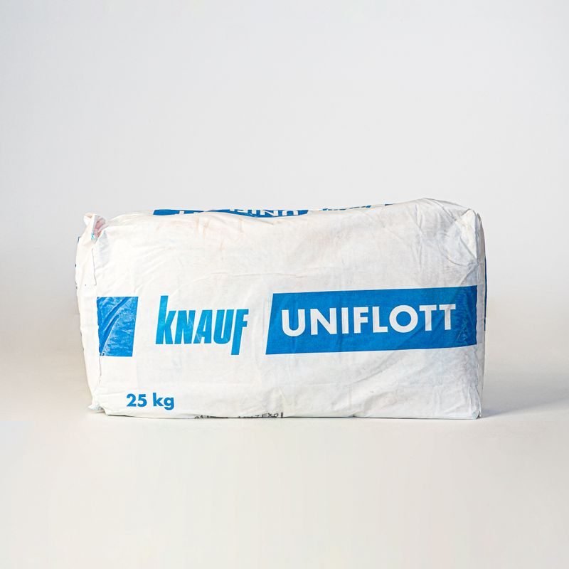 Купить Шпаклевка гипсовая Кнауф Унифлот, 25 кг, Knauf, Белая