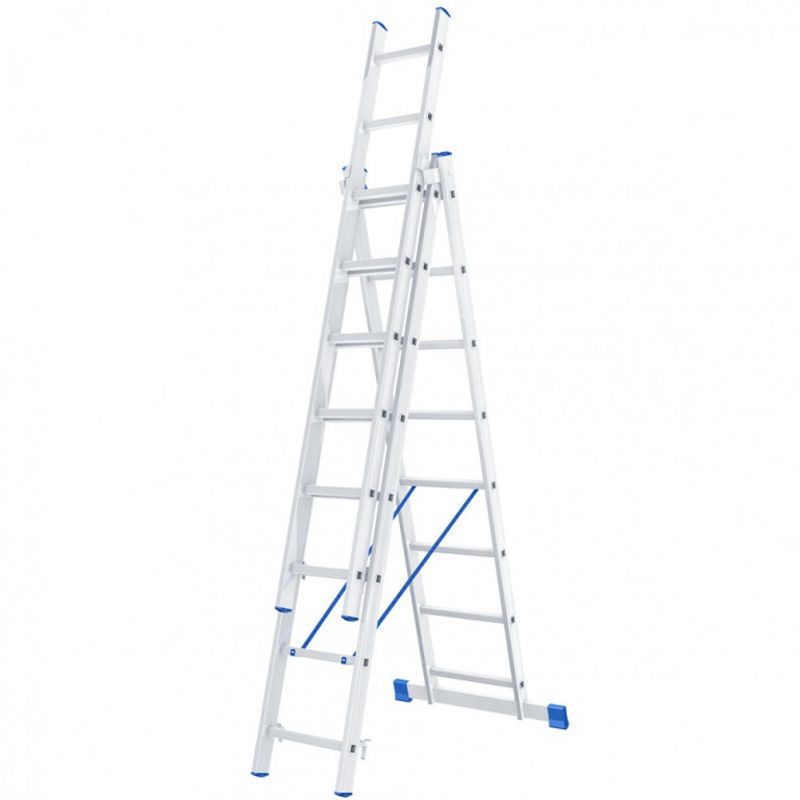 Лестница трехсекционная, 224×363×504 см