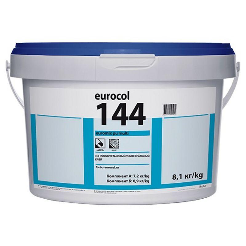 Купить Клей Forbo 144 Euromix PU Multi, 7, 875кг, Коричневый, Россия