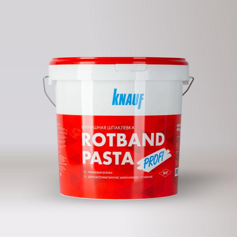 Купить Шпаклевка финишная Кнауф Ротбанд Паста Профи, 18 кг, Knauf, Белая