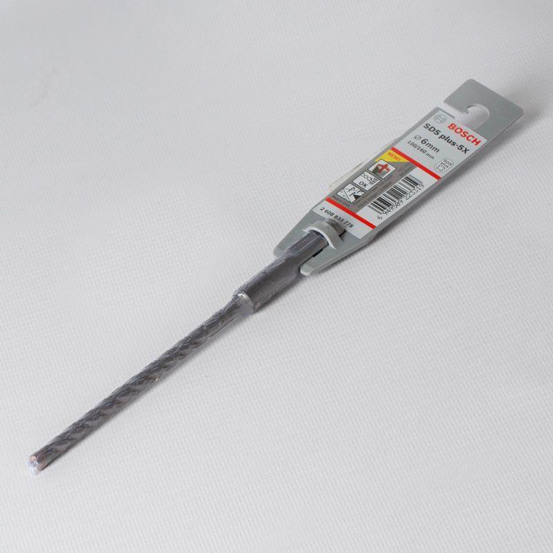 Бур 6 165мм SDS+ (100мм), BOSCH