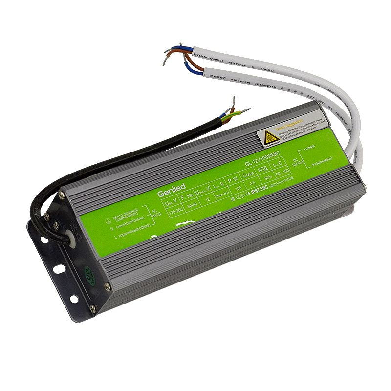 Блок питания Geniled GL-12V100WM67 slim Черемушки аксессуары для компьютерных игр
