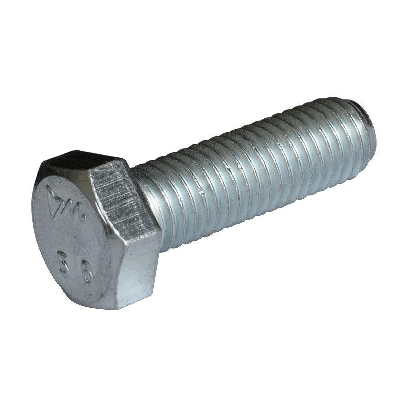 Болт оцинкованный DIN 933 М6х40 мм