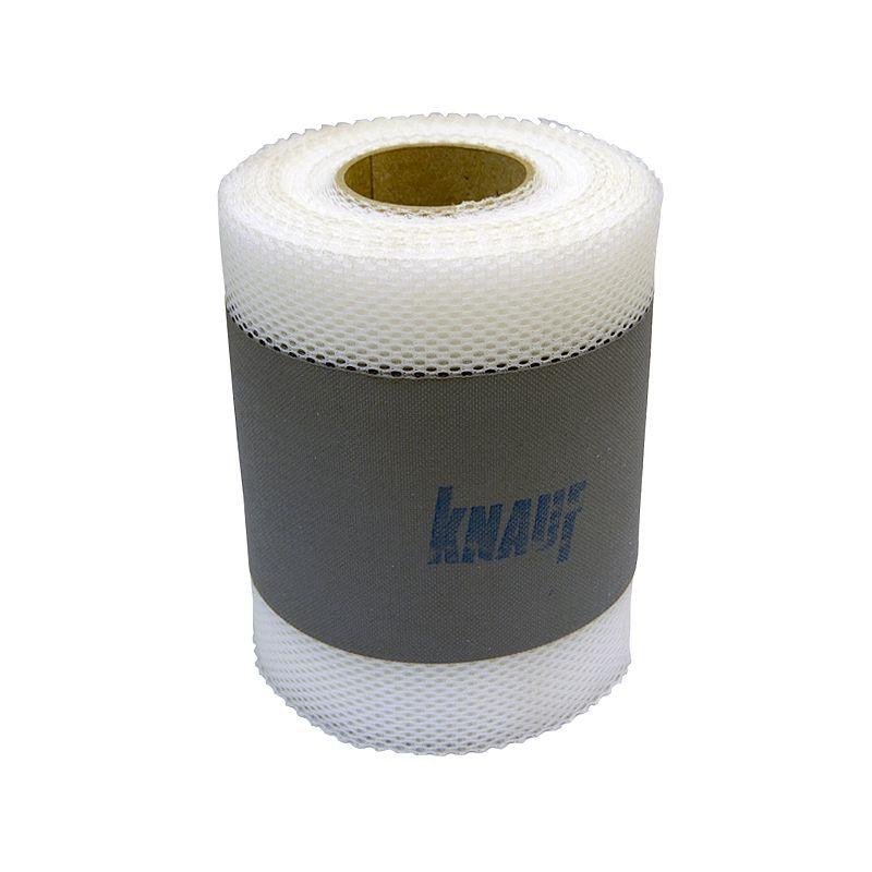 Купить Лента гидроизоляционная Кнауф Флэхендихтбанд 10000х120/70 мм, Knauf, Серый, Полиэфир