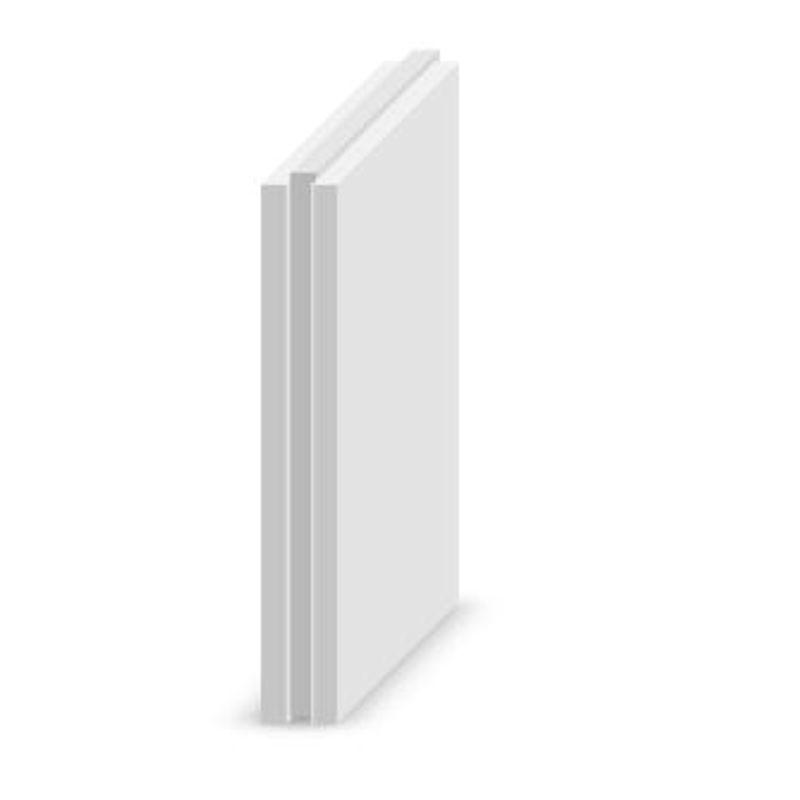Плита пазогребневая полнотелая 667х500х80 мм Магма