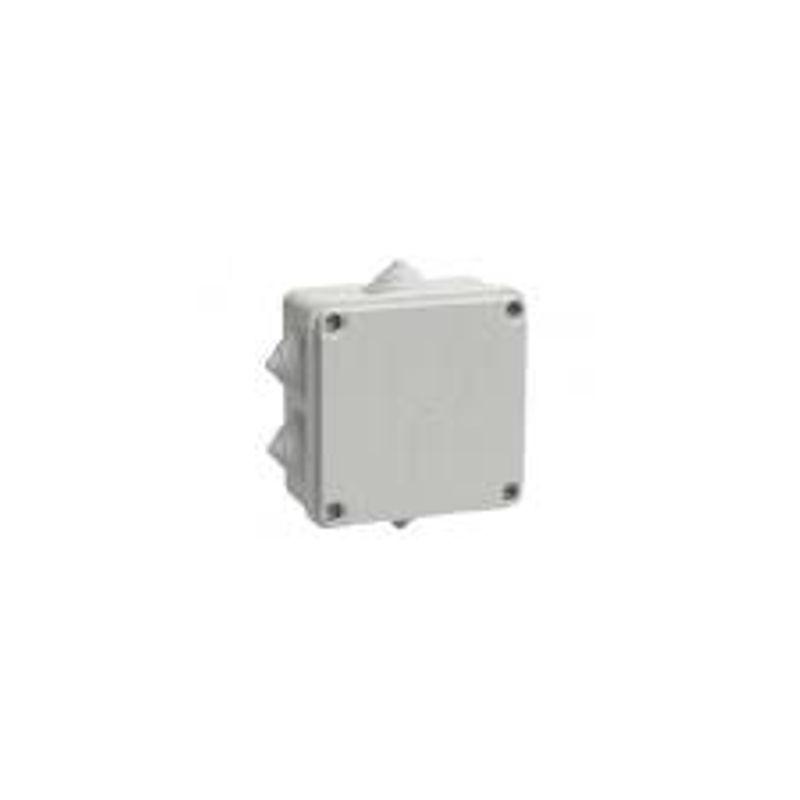 Коробка распределительная 100х100х50мм IP55 серая IEK фото