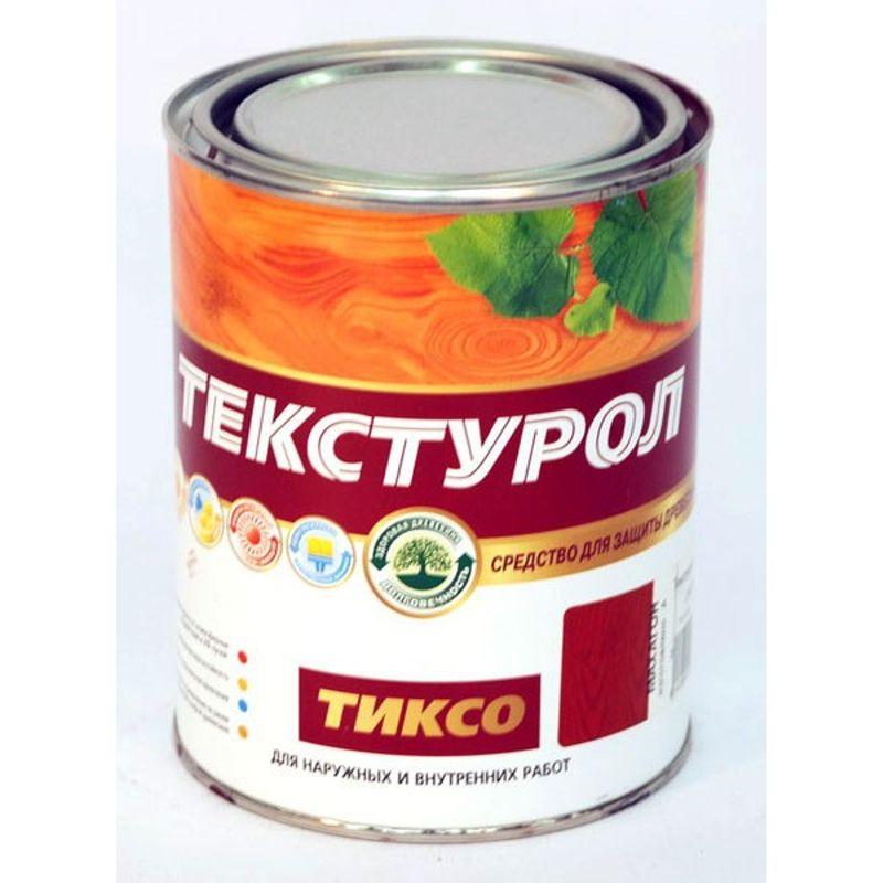 Средство для длительной защиты древесины Текстурол Тиксо б/цветный, 1 л фото